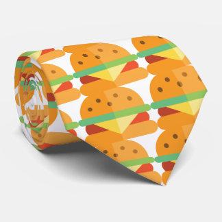 Novelty Cheeseburger Men's Tie