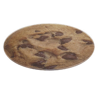 Novelty Chocolate Chip Cookie Cutting Boards