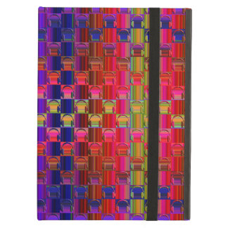 Novelty Headphones Multicolored Mosaic Pattern iPad Air Case