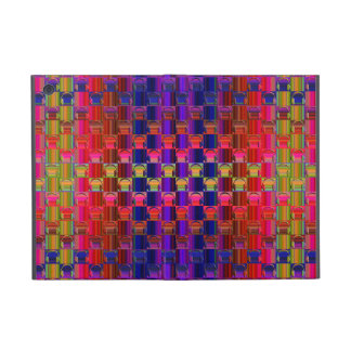 Novelty Headphones Multicolored Mosaic Pattern iPad Mini Cover