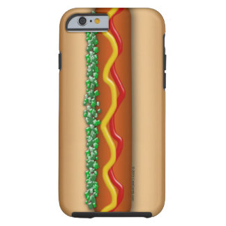 Novelty Hot Dog Graphic Funny Tough iPhone 6 Case