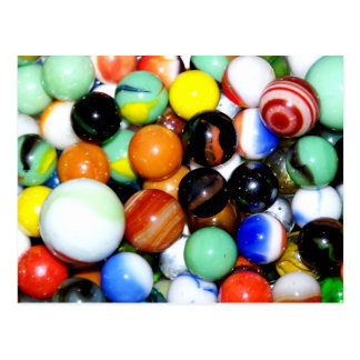 Novelty Marble Collection Postcard