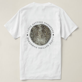 Novelty metal detecting t-shirt