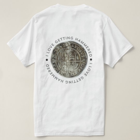 Novelty metal detecting t-shirt