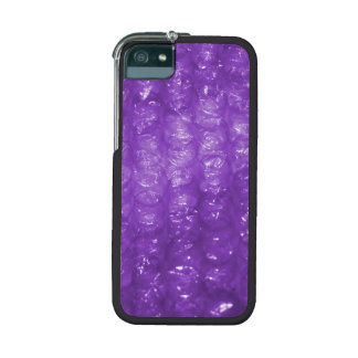 Novelty Purple Bubble Wrap Look iPhone 5 Cases