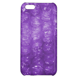 Novelty Purple Bubble Wrap Look iPhone 5C Cover