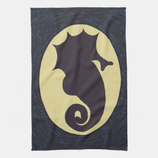 Novelty Seahorse Tea Towel