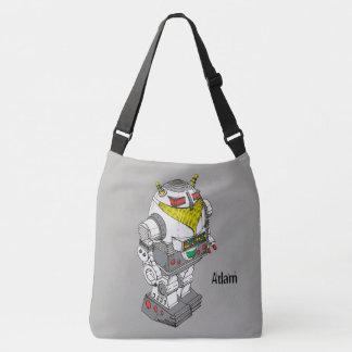 Novelty Toy Robot Cross-Body Bag