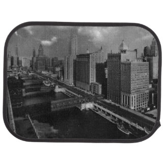 November 1939:  The city of Chicago Car Mat