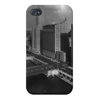 November 1939:  The city of Chicago iPhone 4/4S Cover