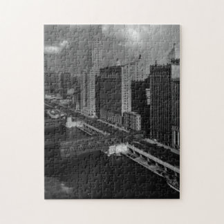 November 1939:  The city of Chicago Jigsaw Puzzle