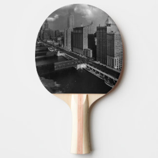 November 1939:  The city of Chicago Ping Pong Paddle