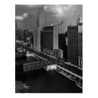 November 1939:  The city of Chicago Postcard