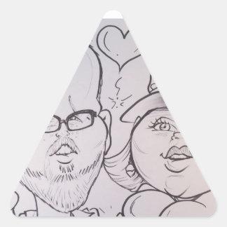 November 2012- A Triangle Sticker