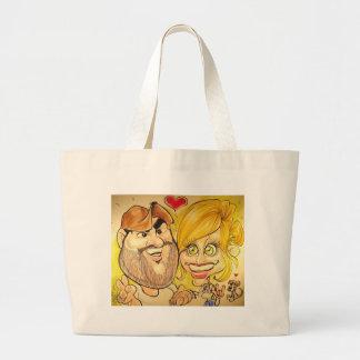 November 2012- P Jumbo Tote Bag
