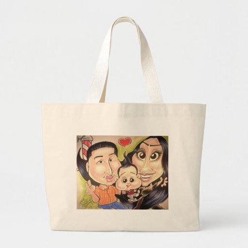 November 2012 State Fair Louisiana Caricature Bag