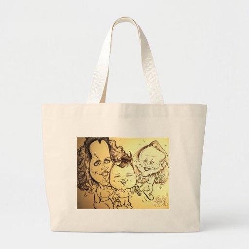 November 2012 State Fair Louisiana Caricature Canvas Bag