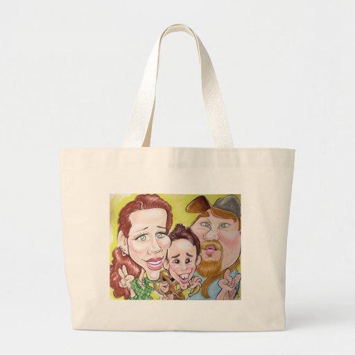 November 2012 State Fair Louisiana Caricature Tote Bag