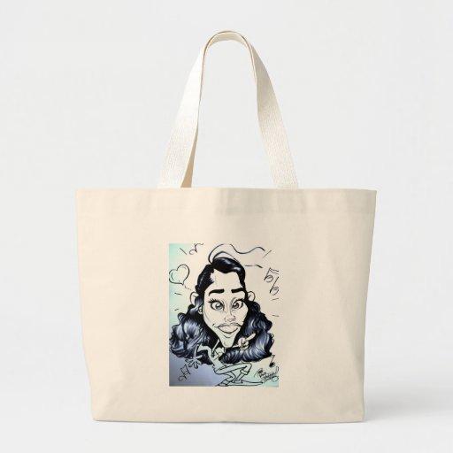 November 2012 State Fair Louisiana Caricature Tote Bags