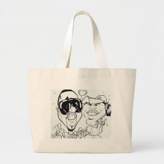 November 2012 State Fair Louisiana Caricature Jumbo Tote Bag