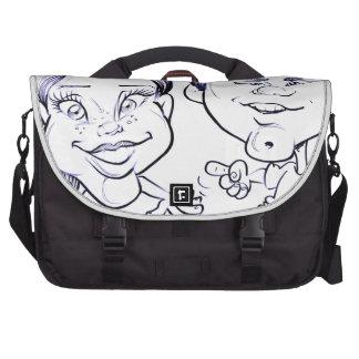 November 2012 State Fair Louisiana Caricature Laptop Bag