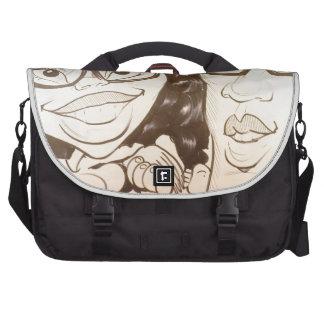 November 2012 State Fair Louisiana Caricature Laptop Messenger Bag