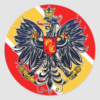 November Criminals Chimera Eagle Sticker