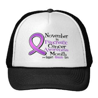 November is Pancreatic Cancer Awareness Month Cap