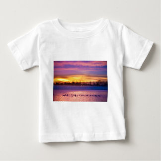 November Lagerman Reservoir Sunrise Baby T-Shirt