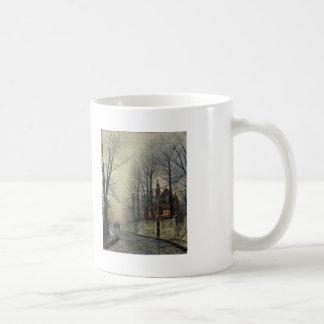 November Moonlight by John Atkinson Grimshaw Coffee Mugs