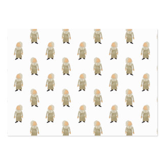 November Thanksgiving Pilgrim Puritan Kids Pattern Pack Of Chubby Business Cards