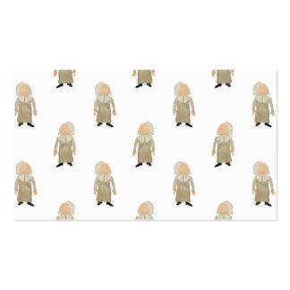 November Thanksgiving Pilgrim Puritan Kids Pattern Pack Of Standard Business Cards