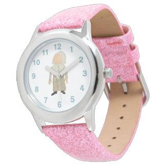 November Thanksgiving Pilgrim Puritan Toddler Girl Wristwatches