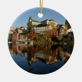 Novemberday in Arendal Christmas Ornament