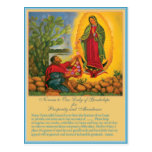 Novena to Our Lady of Guadalupe Post Card