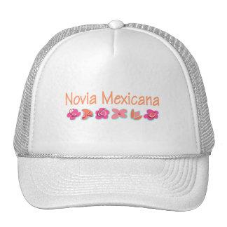 Novia Mexicana Mesh Hat