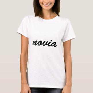 Novia t-shirt for a Spanish bride.