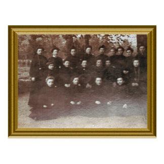 Novice nuns, France 1890 Postcards