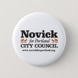 Novick for PDX 1 6 Cm Round Badge