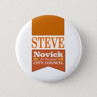 Novick for PDX 2 6 Cm Round Badge