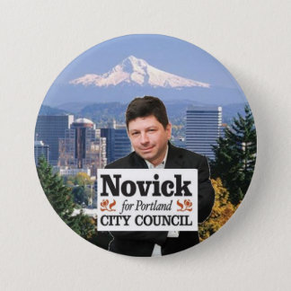 Novick for PDX 3 7.5 Cm Round Badge