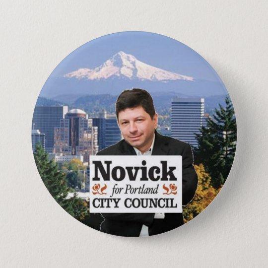 Novick for PDX 3 7.5 Cm Round Badge