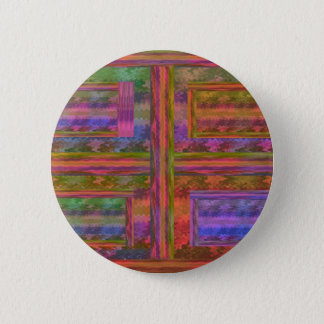 NOVINO Abstract : suitable to add Text n Image 6 Cm Round Badge