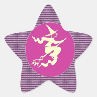NOVINO Artistic Star Text Star Sticker