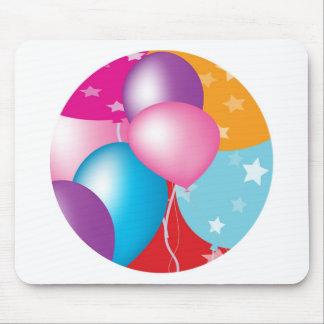 NOVINO Celeberations - Baloons,Stars n Hearts Mouse Pad