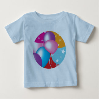 NOVINO Celeberations - Baloons,Stars n Hearts Shirt