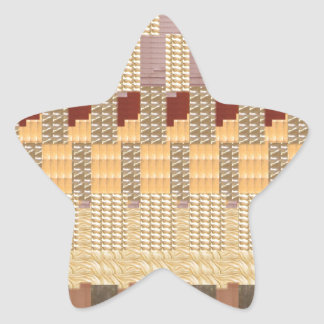 NOVINO Cheeful Artistic Jewels GIFTS for all Star Sticker