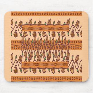 NOVINO Floral Border Pattern Mouse Pad