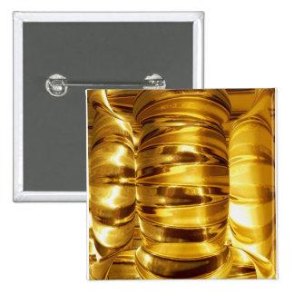 NOVINO Gold Standard - A gift nothing like it 15 Cm Square Badge