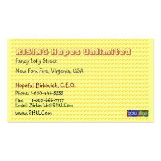 NOVINO Golden Dot Biscard Craftwork Business Cards